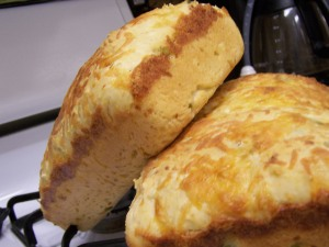 Cornmeal Cheddar Bread