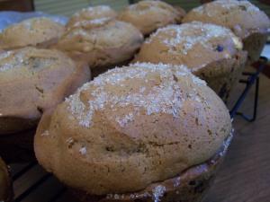 White Chocolate Cranberry Muffins